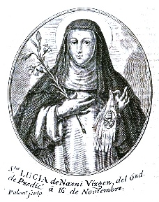 Blessed Lucy of Narni, another stigmatized